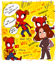Spidertams and marshbucky!!! by spidertam