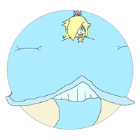 Rosalina Inflated by TheInflatedGuyFan
