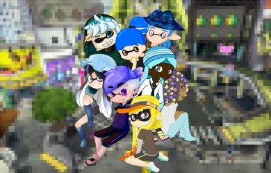 Splatoon Collab [Finished] by Cryshads