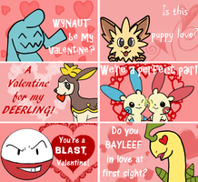 Pokemon Valentines 2 by ShokiDeNai