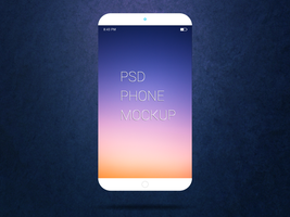 Freebie - Smartphone PSD Mockup by GraphBerry