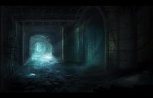 Dungeon Passage by AlynSpiller