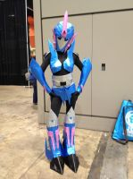 Arcee Cosplay by soybeanchan