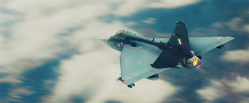 Tejas 3d by NishithV