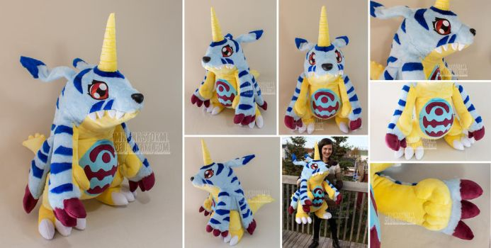 Gabumon by MagnaStorm