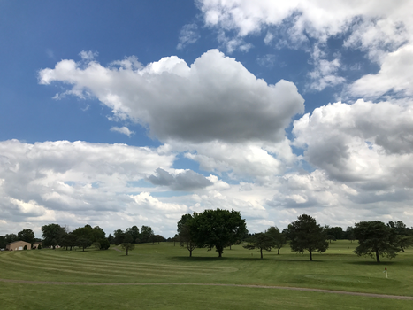 BT GC Clouds Over the Course IMG 1978 by TheStockWarehouse