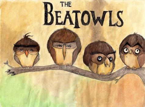 The Beatowls by aruanahansel