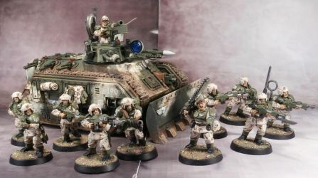 Cadian Armoured Fist by Elmo9141