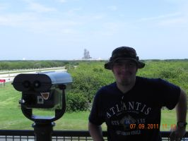 Me at Pad 39A by GeneralTate
