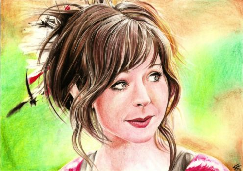 Lindsey Stirling by BlueWelli