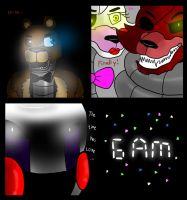 FNAF Comic : Good and Bad Ones (Part 20) by Shimazun