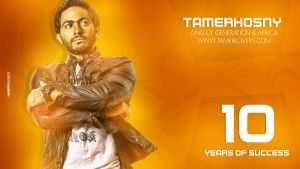 Tamer Hosny- Wallpaper by mounir-designs