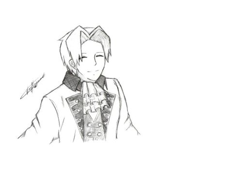 __Young_Edgeworth_.smile.__ by xCheckmate