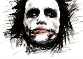 Why So Serious? by LilidraArt