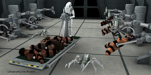 Robot Spider Attack 3 : Wanted Warriors 02 of 18 by LithographicDan