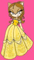 Belle the hedgehog by LillyO321