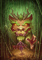 Don't Mess With Forest Spirits by Silartworks