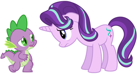 Starlight and Spike by thatguy1945