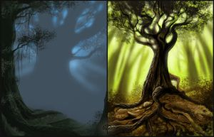 Moar Forest Quickies by AlectorFencer