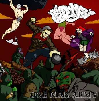 THE DEAD EMCEE - 'ONE MAN ARMY' by Dexere