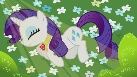 In Memory of Rarity by adcoon