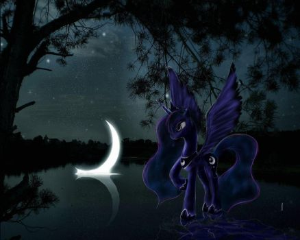2 Luna In Crescent-moon- by dragontwi