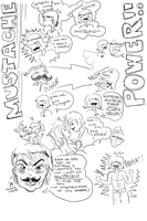 Mustachio Concept Sketch by OcularFracture