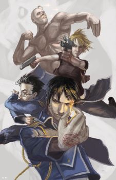 FMA:Military by Doomsplosion