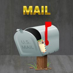 Mail Icon by cavemanmac