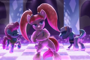 Raver ponies by Montano-Fausto