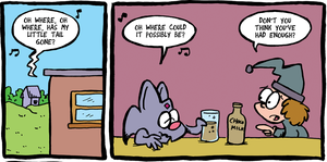 THE FUZZY PRINCESS (10-23) by bakertoons