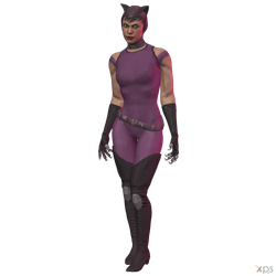 Injustice 2 - Catwoman (Gear I) by MrUncleBingo