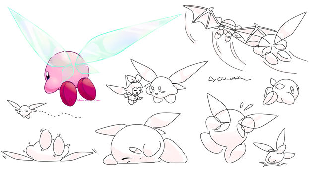 Kirby_Kirby's wings by Chivi-chivik