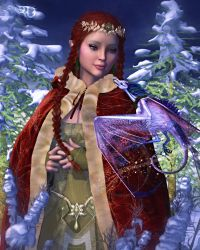 Blessings from the Lady of Yule by RavenMoonDesigns