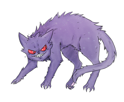 Kitty Gengar by Awko-Talko