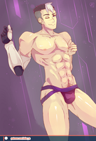 Sexy Daddy Shiro - Voltron by Mizu55