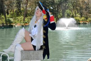 hot and cool - Fem!Prussia cosplay by Voldiesama