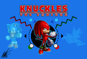 Character Select: Knuckles by ShockRabbit