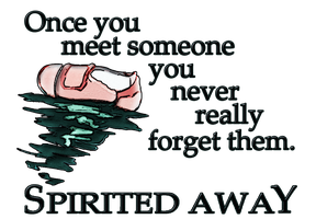 Spirited Away Rough Sketch Quote: REDBUBBLE! by Aekaitz