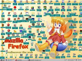 Firefox's Playroom. by travisuped
