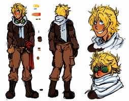 COMMISSION: Leif Reference by DarkChibiShadow