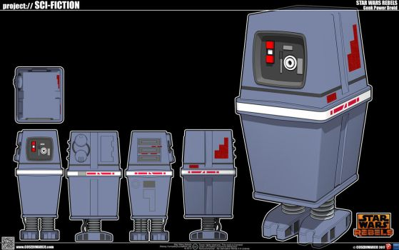 Gonk Power Droid by cosedimarco