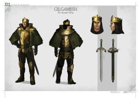 Gilgamesh by DrawingNightmare
