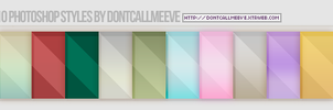 Photoshop Styles (lines + gradient) by DontCallMeEve
