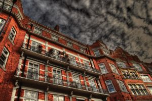 London Apartments HDR by nat1874