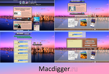 Macdigger.ru (release style) CSS by Iceler