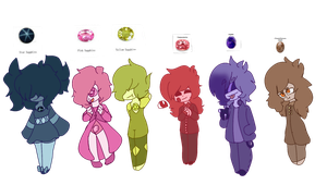 Gem Adopts*Open Auction* by Karma-Chara-Adopts