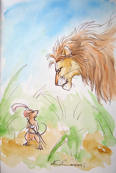 100 Themes Challenge #6 - First Encounter by Nuzma