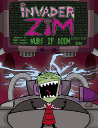 invasor zim  Nubs Of Doom cover by J5A4