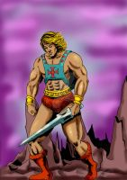 He-Man the masters of the universe by mrinal-rai